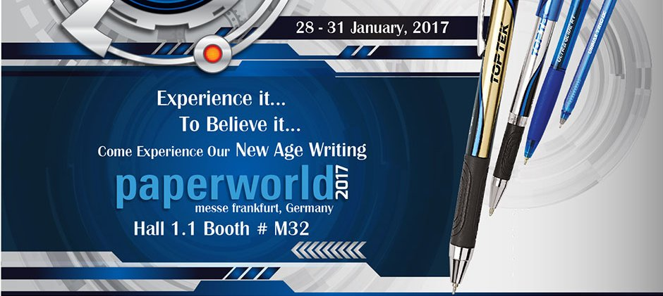 Find us at Paperworld 2017!